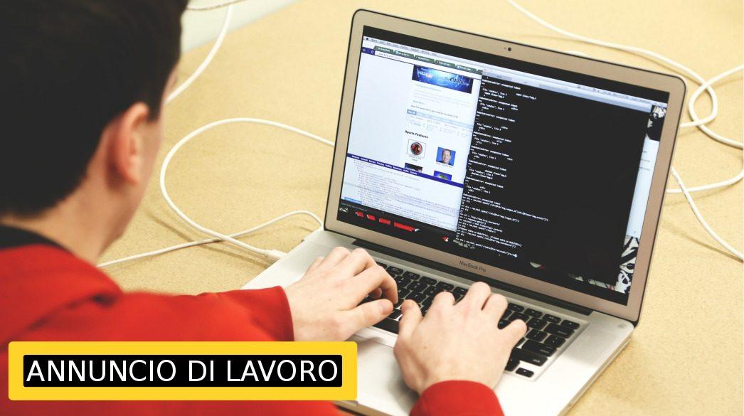 Annuncio di lavoro - Sviluppatore WEB